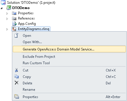 Code Generation Templates for Transport Objects Based on a Domain ...