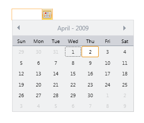Wpf Datetimepicker Example
