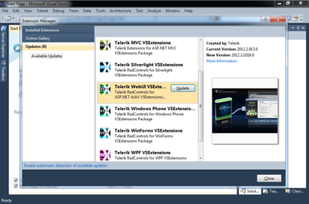 Comprehensive ui toolbox of 130+ controls telerik ui for winforms.