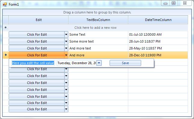 Create pop-up user control for row editing - Telerik UI for