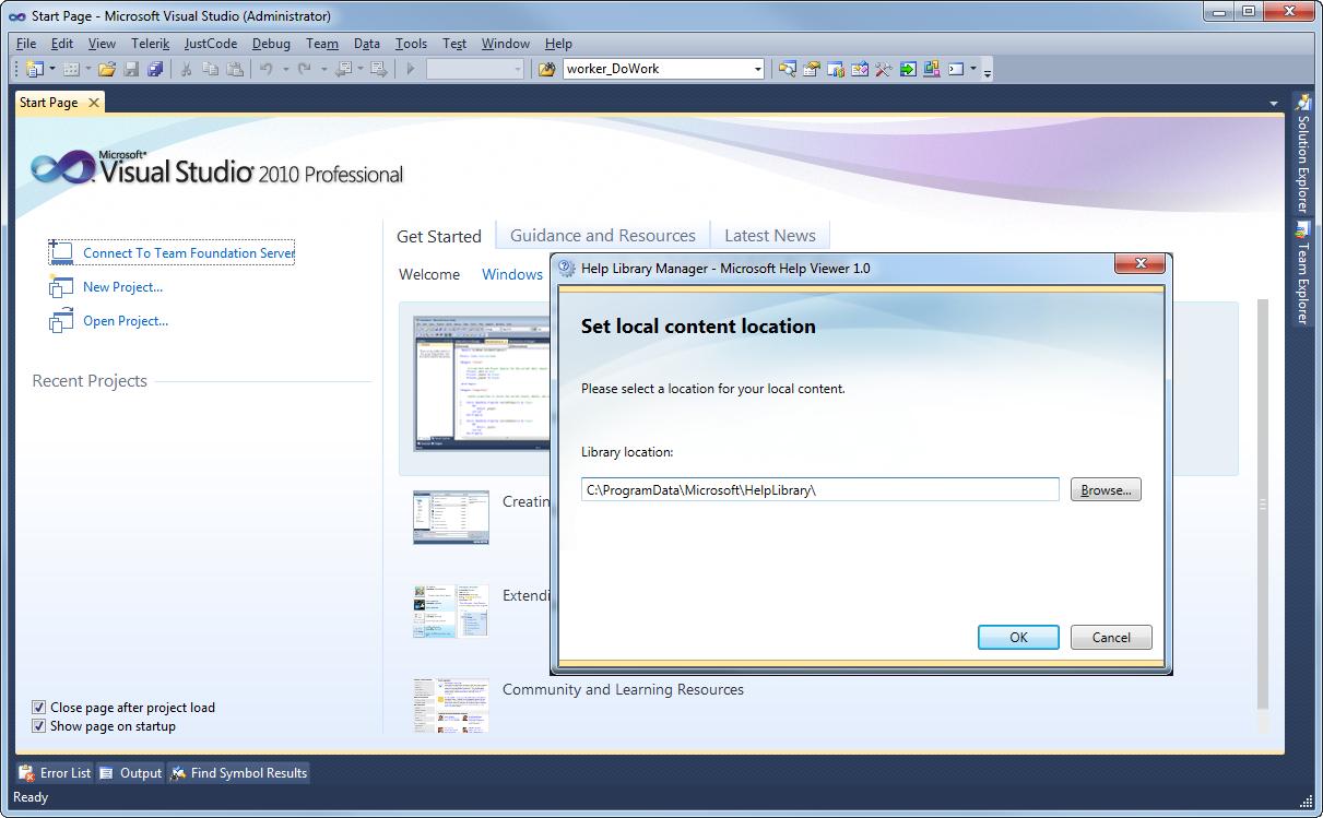 how to install visual studio 2010 step by step pdf