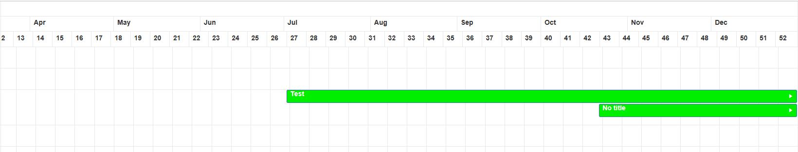 week scheduler