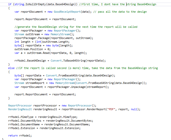 Datasource from Base64 string in Reporting Reporting - Telerik Forums