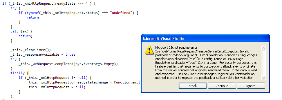 weird issue cropped up in radGrid in UI for ASP NET AJAX Grid