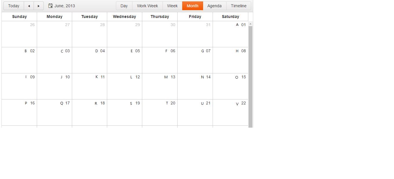 How to add lunar calendar date in scheduler ? in Kendo UI