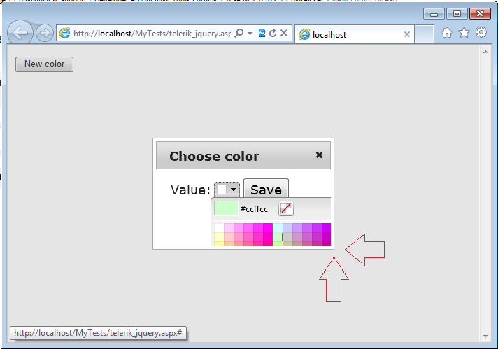 ColorPicker does not work well with jQuery UI Dialog! in UI