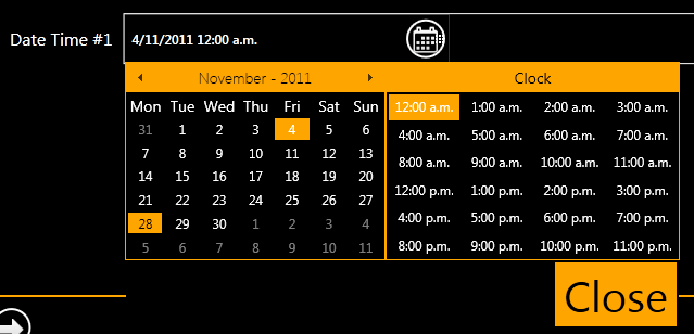 How to easily change font size in UI for WPF DateTimePicker