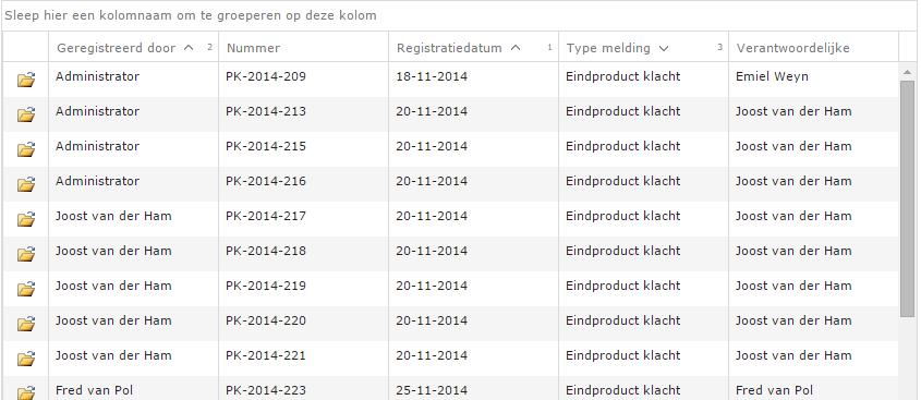 Display sort order on column headers in Kendo UI for jQuery