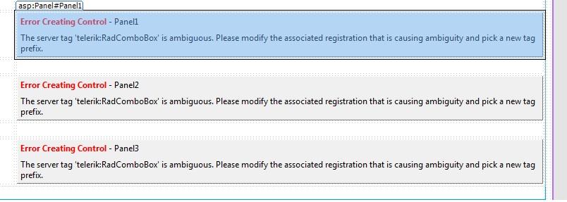 Failed To Create Designer When We Upgrade Teletrik New Version In Ui For Asp Net Ajax General Discussions Telerik Forums