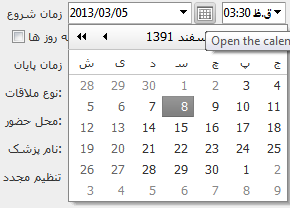 RadScheduler problem with Persian Calendar in UI for ASP NET AJAX