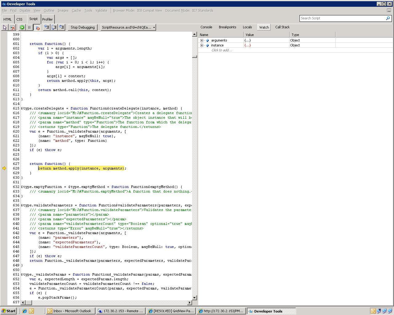 ScriptResourceaxd Problem In UI For ASPNET AJAX Dock
