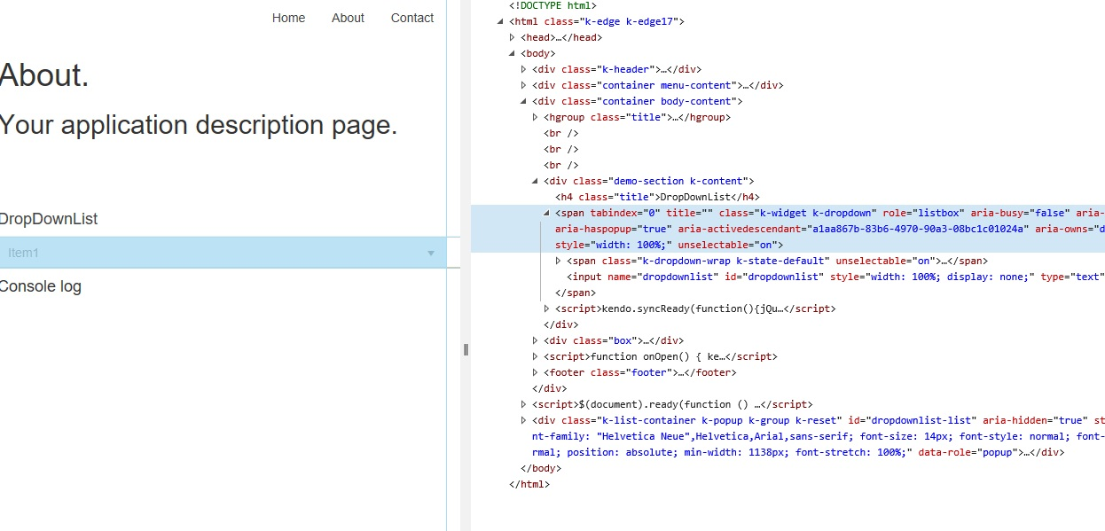 Binding to a Core Razor Page - Here's a simple Sample in UI