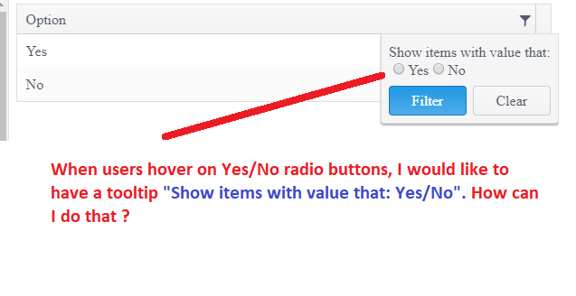 Display 'Yes' instead of 'true' for Boolean values in UI for