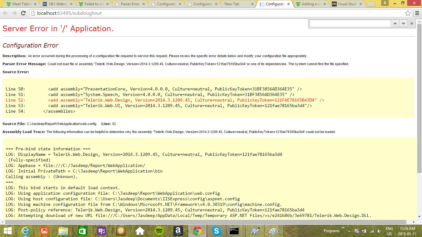 Failed To Create Designer Telerik Web Ui Radgrid In Ui For Asp Net Ajax Installer And Vs Extensions Telerik Forums
