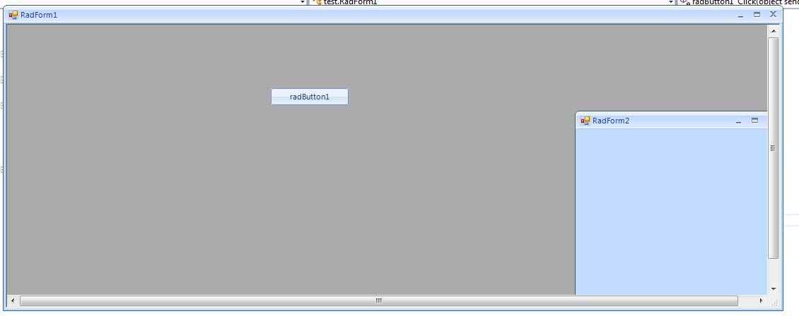 Changing TitleBar colour of a RadForm in UI for WinForms