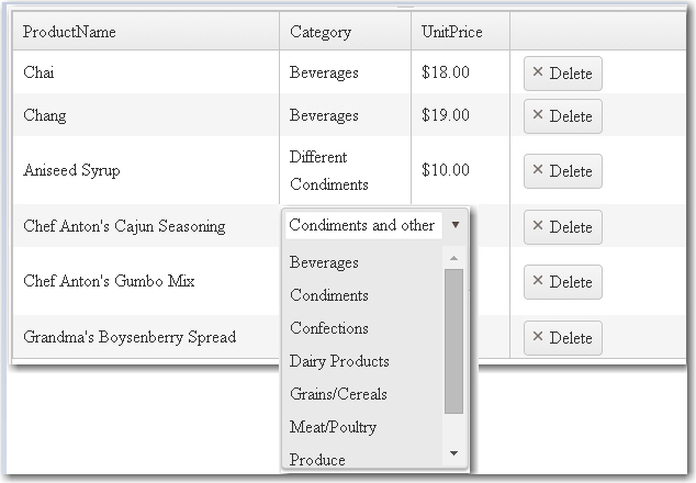 kendoDropDownList cell editor width in Kendo UI for jQuery