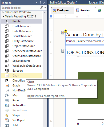 Missing Telerik Reporting Toolbox R1 2019 in VS 2017 in Reporting