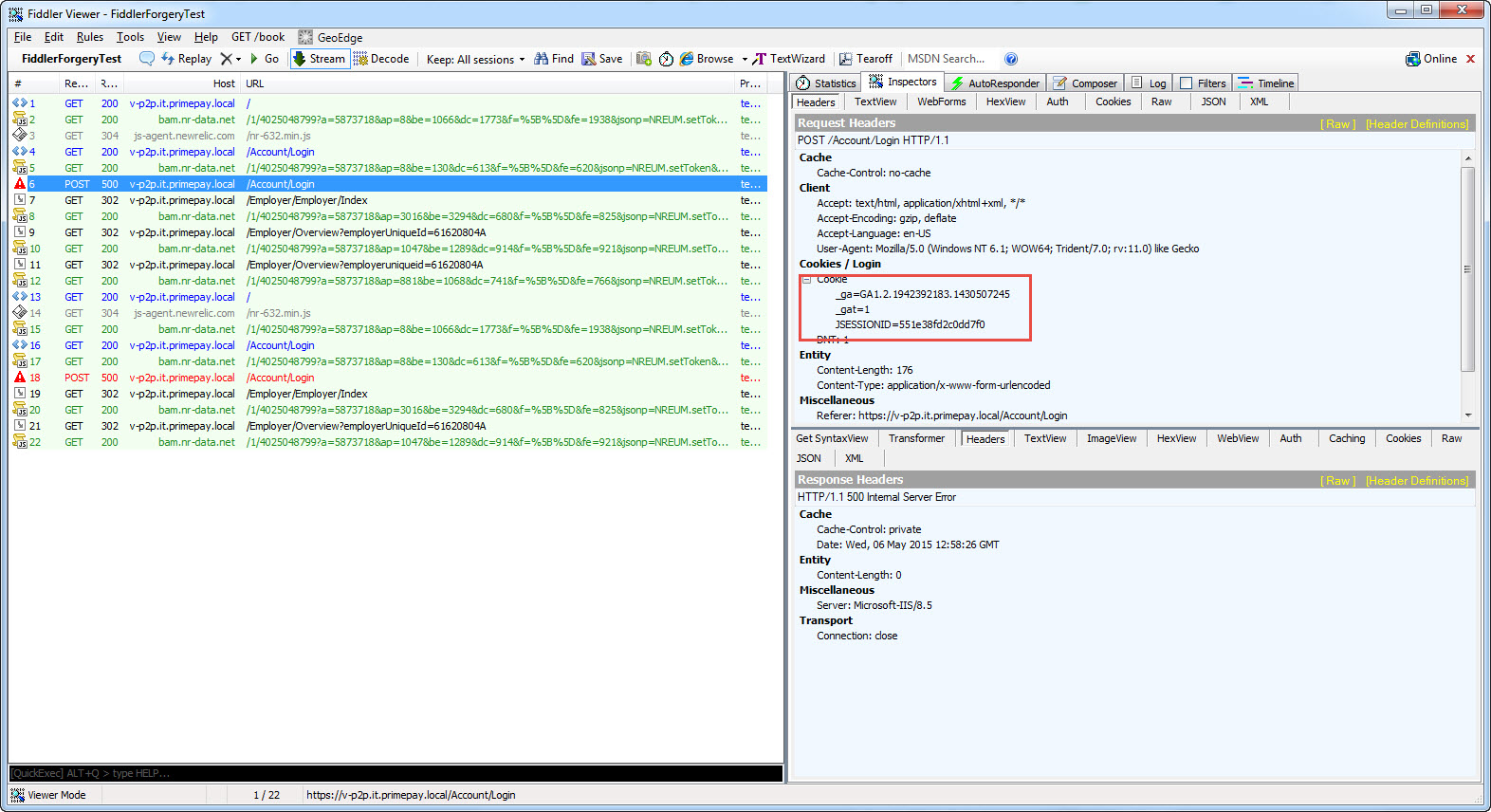 Anti forgery tokens in load tests in Test Studio General Discussions