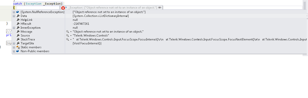 Object Reference Not Set To An Instance Of An Object In Ui For Wpf Pdfviewer Telerik Forums