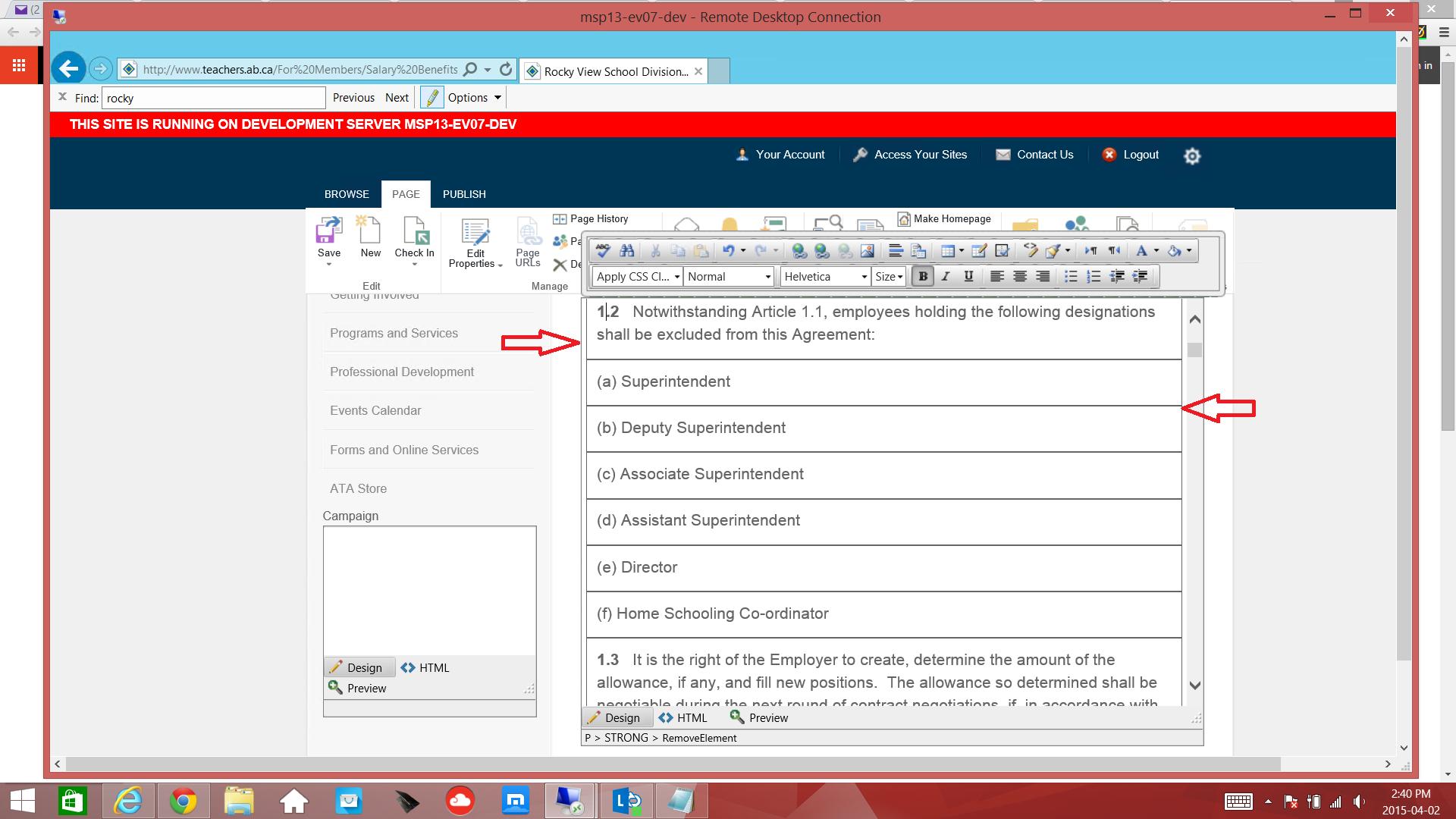 RADEditor issues - cursor jumps to bottom of editor window