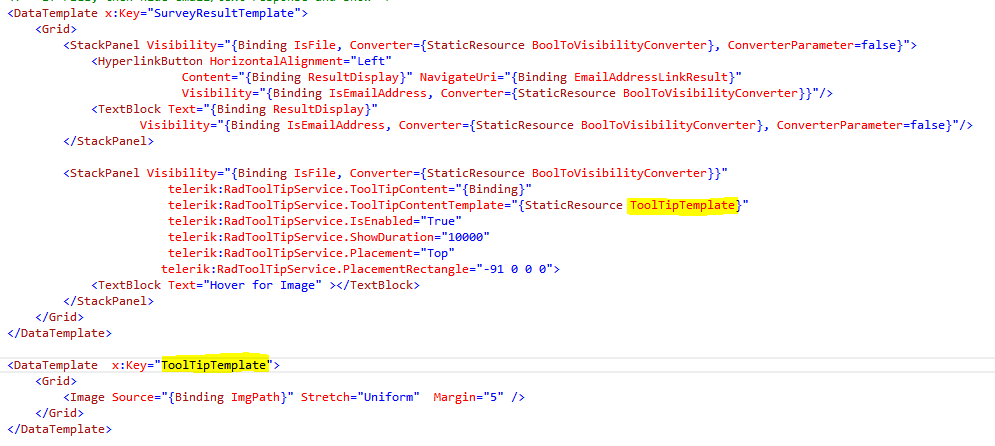 Tooltip template not showing image - ToolTip - UI for Silverlight Forum