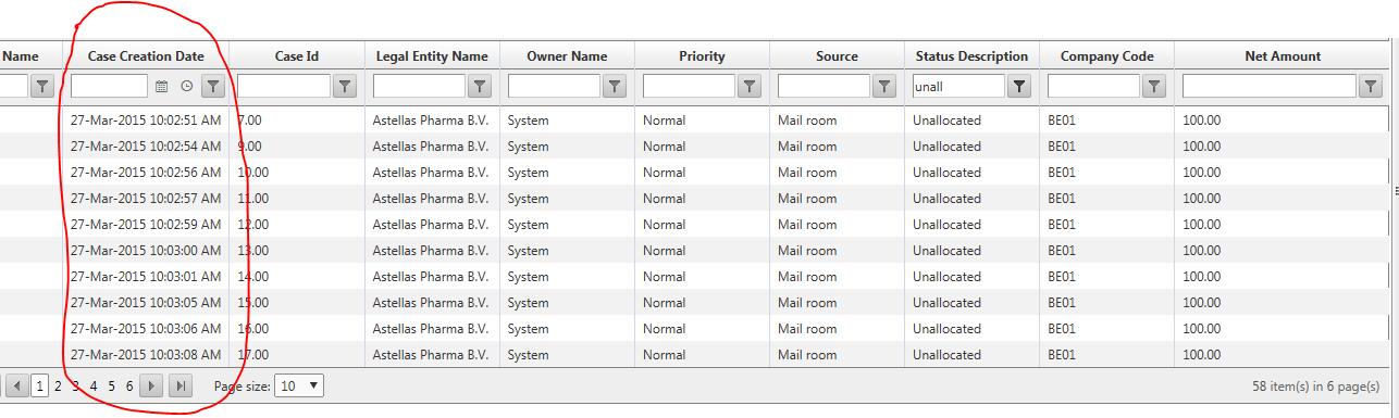 RadGrid Export DateTime Format in UI for ASP NET AJAX Grid
