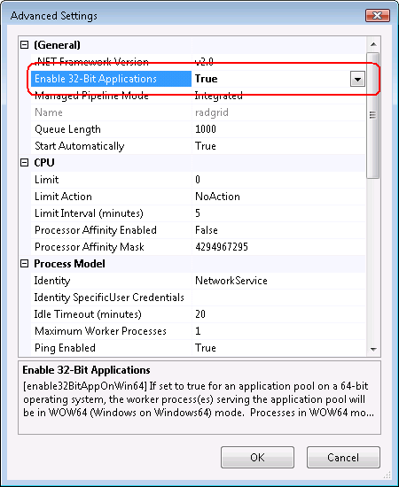 ERROR on 64-bit Windows machines: The 'Microsoft Jet OLEDB 4 0