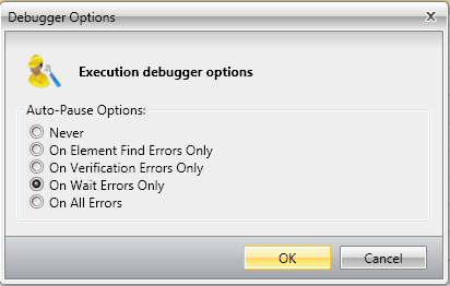 Debugger Options
