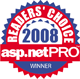 asp.netPRO Readers Choice Awards