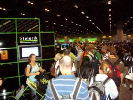TechEd USA Telerik's booth