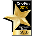 Community Choice Gold DevPro 2013