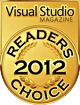 Readers Choice Visual Studio Magazine 2012