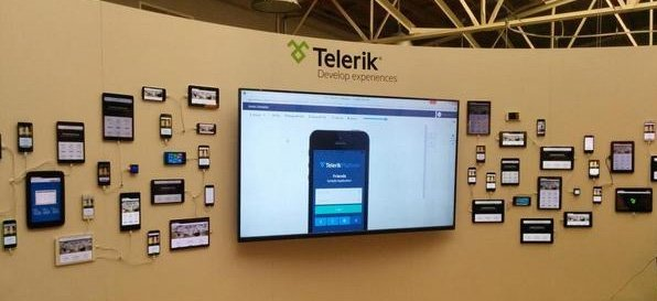 telerik device wall