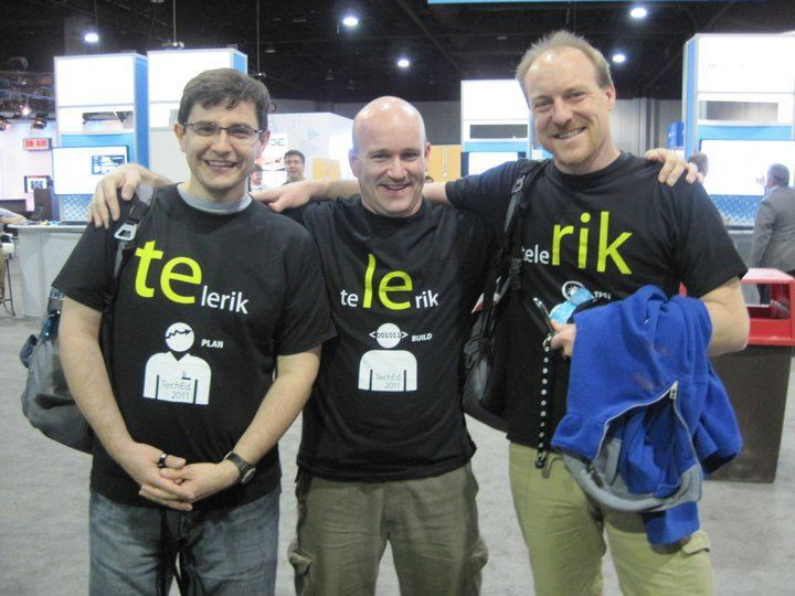 Telerik at TechEd - the Game