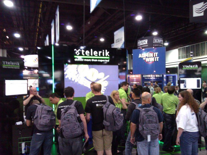 Telerik Booth @ TechEd 2011