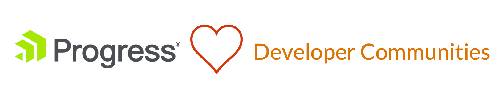 Announcing the Progress Developer Community Support Program