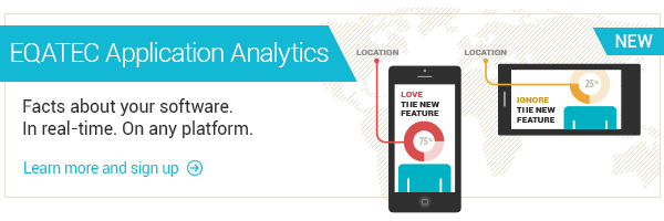 Try EQATEC Application Analytics. It's Free!
