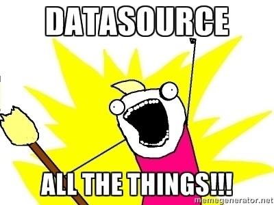 DataSource All The Things