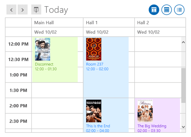 Scheduler for Windows 8 HTML