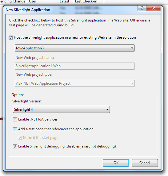 Add Silverlight Application to the MVC site