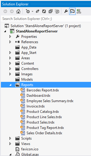 Adding Report Files