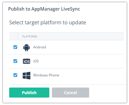 appmanager livesync
