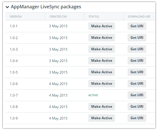 appmanager packages
