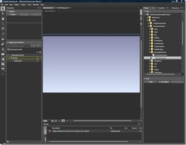 WPF: Debugging Expression Blend Exceptions with Visual Studi