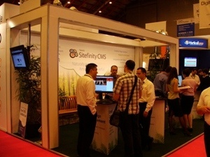 sitefinity booth