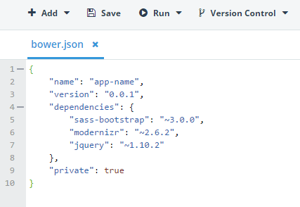 bower.json support