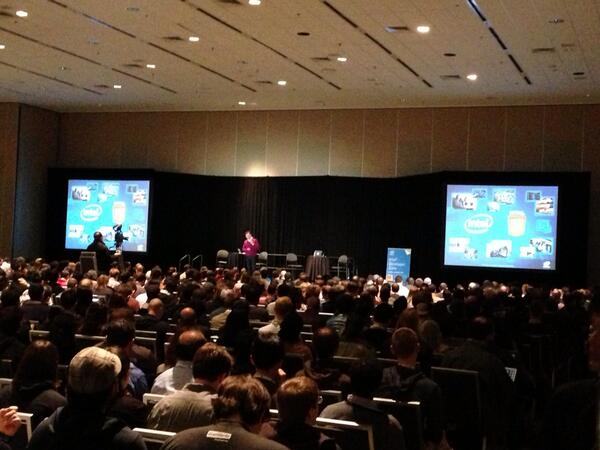 Image of crowd for keynote