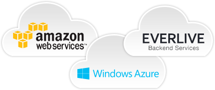 Cloud Upload to Azure, S3, or Everlive