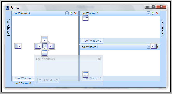 Docking Layout for Winforms