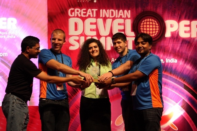 TeamPulse - Winner of Collaboration Software at GIDS 2012